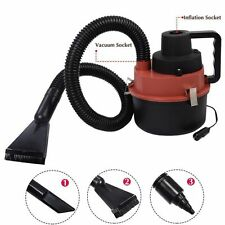 Portable Powerfull Mini Auto Car Vacuum Cleaner Wet/Dry DC 12 Volt Red New  MG