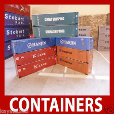 Best Buy Mixed Set Model Shipping Container Card Kits x 12 Pre-weath Z,N Gauge