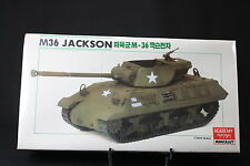 XJ062 ACADEMY 1/35 maquette tank char 1309 US Army M-36 Jackson tank destroyer