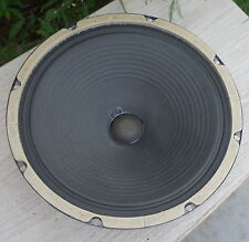 "Pair (2)  '64 HEPPNER 12"" Speakers AO-24346 Ribbed ROLA 18958 AO-24347 16 Ohms"