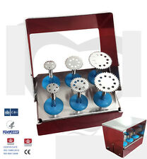 Dental Saw Disk Kit , Diameters 7 , 10 and 14mm / Dental Implant Kit