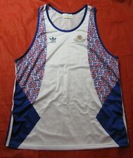 1992 BARCELONA GB OLYMPIC GAMES Great Britain RETRO Shirt ADIDAS adult SIZE L