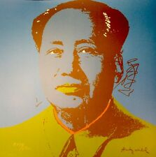 Andy Warhol Mao Tse Tung Monroe original Lichtenstein 80 Lithographie 1134/2400