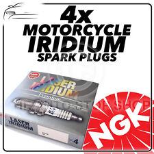 4x NGK Spark Plugs Para Kawasaki 1043cc KLZ1000 ACF (Versys 1000) 12 - > No.6289