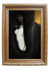 Franz von Stuck Sin Oil Painting repro