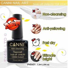 No limpie capa superior para Espejo Unicornio pigmento en polvo Canni UV LED Gel Nail Polish