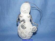 Perfectly Presented Christmas Snowman Snowflakes Decoration Figurine Ornament
