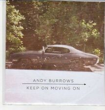 (CZ313) Andy Burrows, Keep On Moving On - 2012 DJ CD
