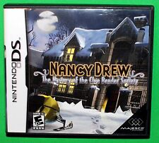 Nancy Drew The Mystery of the Clue Bender Society Nintendo DS 2008