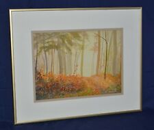 "BEAUTIFUL ED HANCOCK ""OCTOBER MORNING"" ORIGINAL OIL SIGNED BY CANADIAN ARTIST"