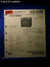 Sony Service Manual HCD A390 Component System  (#1484)