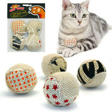 balle de jeu pour chat À Mâcher Exercice Boule Balle interactif Jouet
