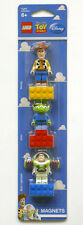 LEGO Toy Story Woody, Alien and Buzz Lightyear Minifigure Magnet Set (NEW)