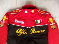 NEU Alfa Romeo ITALY 147 Fan - Jacke schwarz rot  jacket veste jas giacca jakka