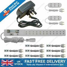 9v Battery Socket Set For Powering Up To 3 Lights Tumdee Dolls House Lighting 02