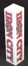 Mini Shotgun **IRON CITY** Wood-Draft Beer Keg Tap Handle-Bar Knob Tapper-Lt 338