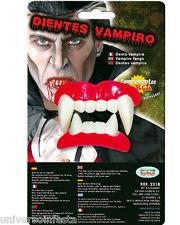 TRUCCO Halloween denti da VAMPIRO Conte Dracula