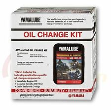 Yamalube Genuine Oil Change Kit Kodiak 400/450 2000-2006 10W-40 plus Filter