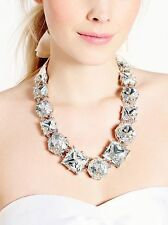 Kate Spade Large Crystal Necklace Bridal Wedding or Evening NWT $325