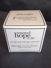 "PHILOSOPHY ""RENEWED HOPE IN A JAR"" REFRESHING & REFINING MOISTURIZER 0.5 OZ"