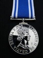 British UK Police Force - Quality Long Service/Good Conduct LSGC Medal & Ribbon