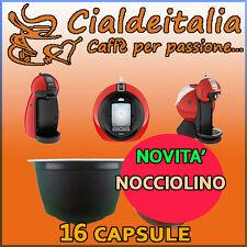 16 capsule NOCCIOLINO Cialdeitalia comp. Nescafè Dolce Gusto