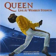 QUEEN - LIVE AT WEMBLEY STADIUM (Remastered) (CD) Sealed