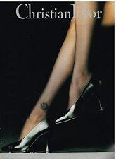Publicité Advertising 1990 Les Bas et Collants Christian Dior