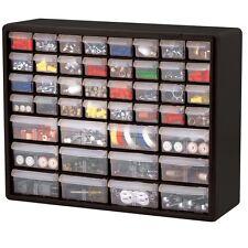 Wall Mounted Multi Drawer Plastic Bin Storage Hardware Crafts Organizer Garage