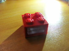 LEGO 08010cc01 Electric, Light Brick 4.5V 2 Plug Holes, Trans-Clear Smooth Lens