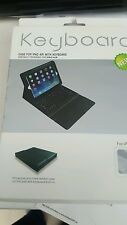 PU Leather Detachable Bluetooth Keyboard Case + Stand for iPad Air & Air 2