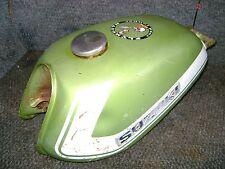 SUZUKI OEM GAS FUEL PETRO TANK GREEN TS90 TC90 TS TC 90 1972 1974 VINTAGE BLAZER