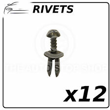 Clips Plastic Rivets 6,5 MM BMW Series 3 Part Number: 11959  Pack of 12