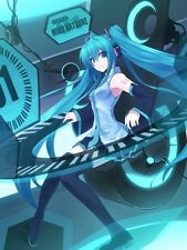 VOCALOID2 Anime Hachune Miku 150*200CM Single-layer Blanket #36768