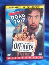 Road Trip (DVD, 2000, Unrated Version) Breckin Meyer, Seann William, Tom Green