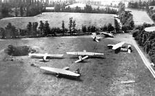 7x5 Photo ww1174 Normandy USA Paratroopers 82nd Air` Div. Gliders Horsa Waco