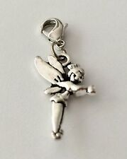 LOVELY SILVER TINKER BELL CLIP ON CHARM FOR BRACELET - TIBETAN SILVER