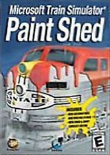 Microsoft Train Simulator Paint Shed (PC, 2002)
