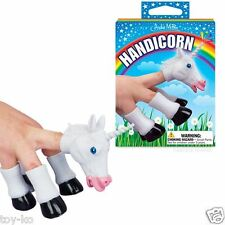 Handicorn Unicorn Head & Hooves Magical Finger Puppet Set!