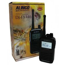 ALINCO DJ-FX446 FX446 TRANSCEIVER PMR446 LICENSE FREE