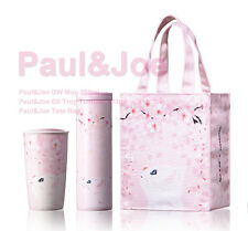 Starbucks 2017 collaboration Paul & Joe tote bag double wall mug SS Troy SET