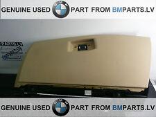 GENUINE BMW 5 SERIES E60 E61 GLOVE BOX INTERIOR DASH STORAGE COMPARTMENT BEIGE