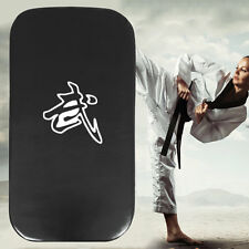 Leather PU Martial Art Taekwondo MMA Boxing Kicking Punching Foot Target Pad L7