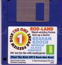 The One Amiga - Magazine Coverdisk 1 - Rod-Land Demo