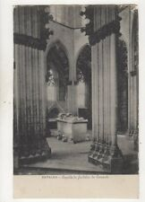 Batalha Capella do Fundador do Convento Portugal Vintage U/B Postcard 505b