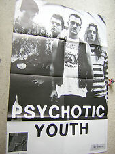 PSYCHOTIC YOUTH Some Fun orig GERMAN TOUR- / CONCERT-POSTER A1 (85 x 58 cm)