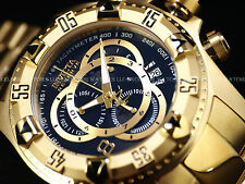 Invicta Reserve 52mm Excurison TOURING ED. Swiss Chronograph 18K Gold IPSS Watch
