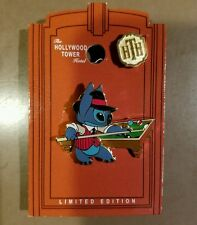 DISNEY PIN LE THE TWILIGHT ZONE TOWER OF TERROR EVENT STITCH RACK EM UP POOL