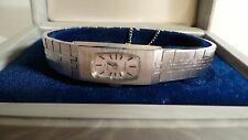 VINTAGE SEIKO JEWELED WIND UP WOUND LADIES WATCH 1520-3331 Steel Bracelet