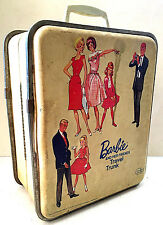 Original Vintage 1965 BARBIE And Her Friends TRAVEL TRUNK Mattel Doll Toy RARE